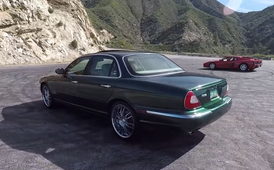 A High-Mileage 2004 Jaguar XJR