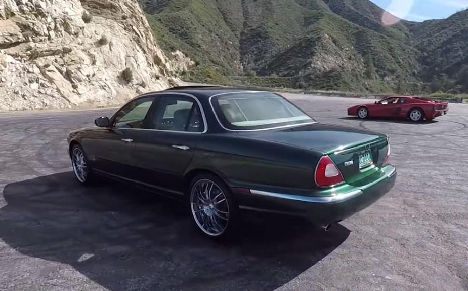 A High-Mileage 2004 Jaguar XJR