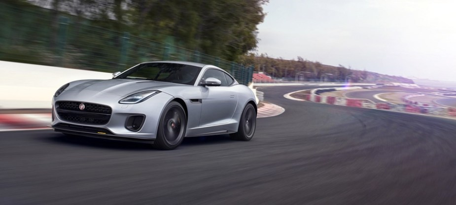 Jaguar F-Type GT4 Customer Car Built in SVO shop