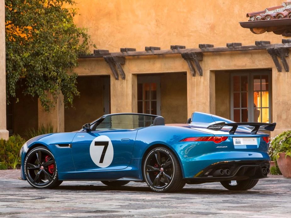 Jaguar F-Type GT4 Customer Car Built in SVO shop