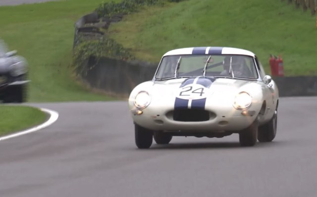 Tom Kristensen E-Type Goodwood
