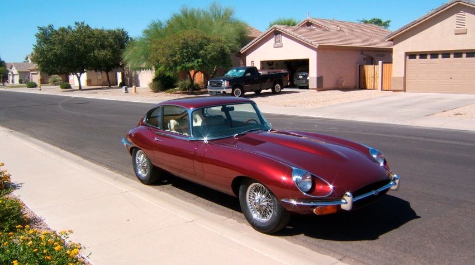 1969 Jaguar E-Type LS Swap