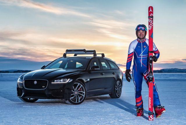 Jaguarforums.com Jaguar XF Sportbrake Skier Record