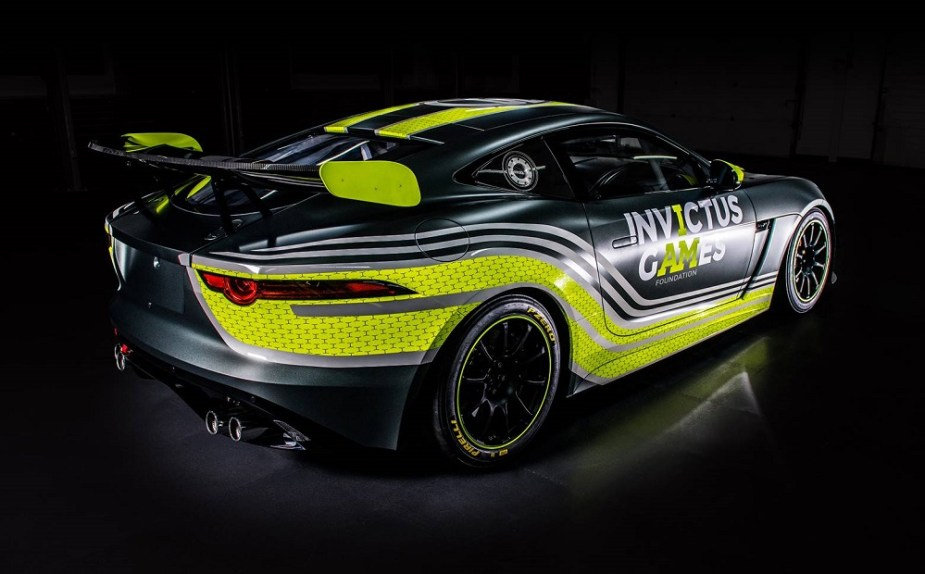 2018 Jaguar F-Type SVR GT4 British GT Invictus