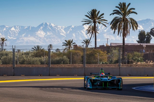 2017 - 2018 Jaguar I-Type Formula E Morocco