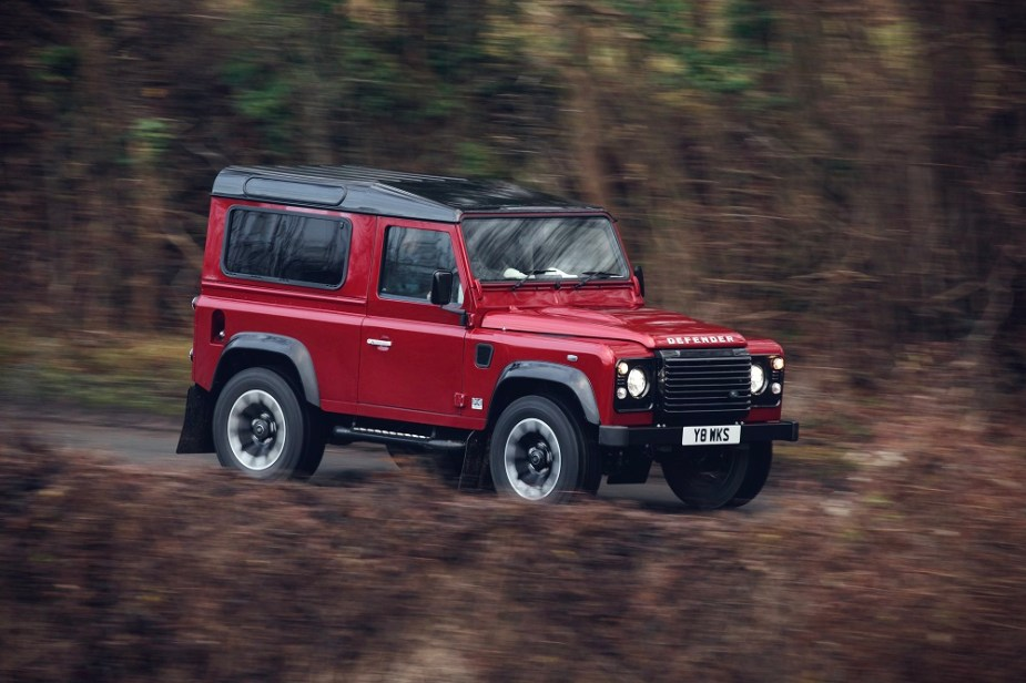 jaguarforums.com Land Rover Defender Works V8