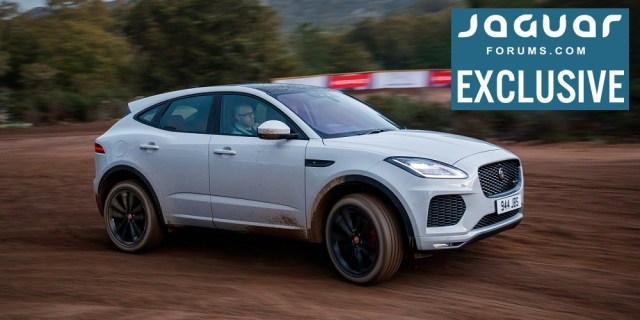 Jaguarforums.com 2018 2019 Jaguar E-PACE SUV First Drive Review Test Corsica France