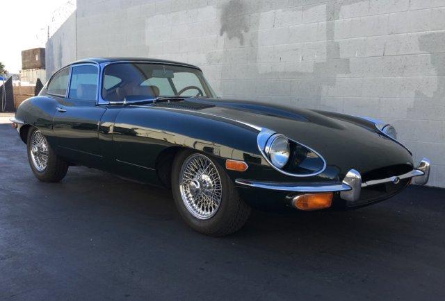 1969 Jaguar XKE Front