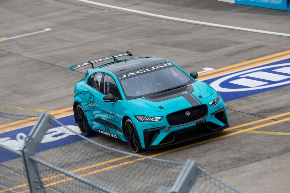 Jaguarforums.com Jaguar I-PACE eTrophy Race Car Debut