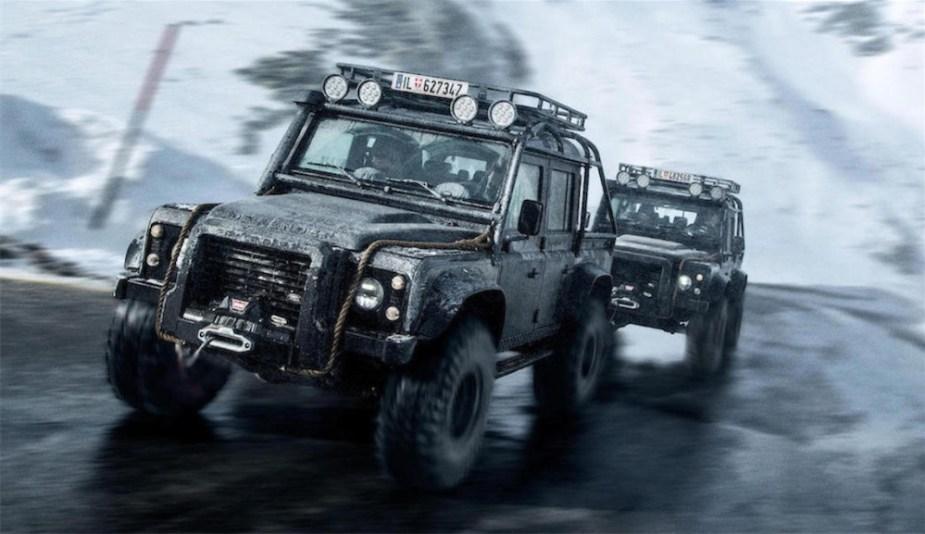 Jame Bond SPECTRE Land Rover