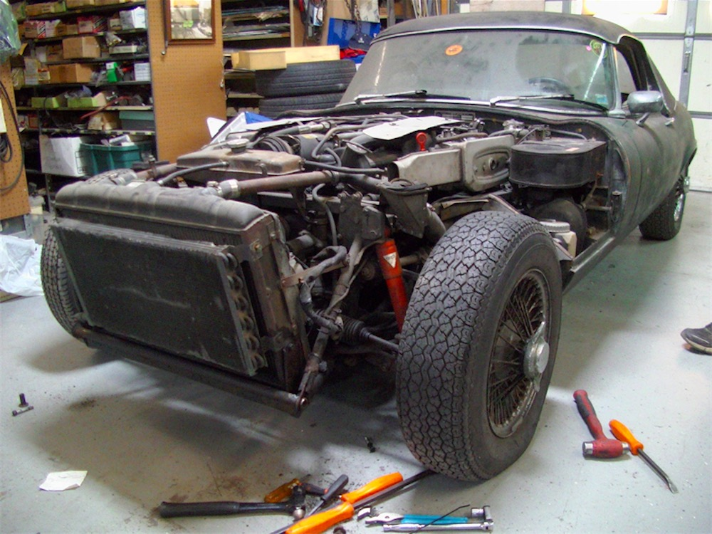 Jaguar XKE E-Type Restoration