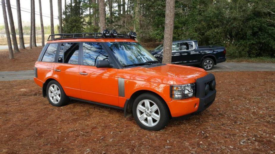 2004 Range Rover G4