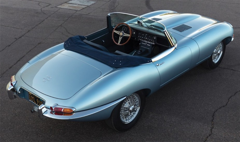 Jaguar E-Type Roadster Restoration.