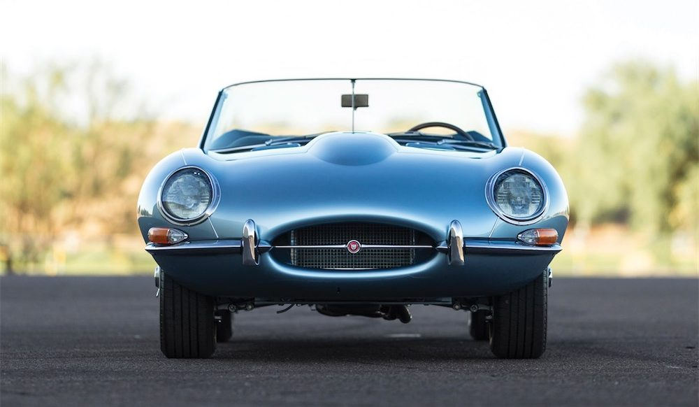 Jaguar E-TYPE Monterrey Car Week Pebble Beach RM Sotheby's Auction Jaguarforums.com