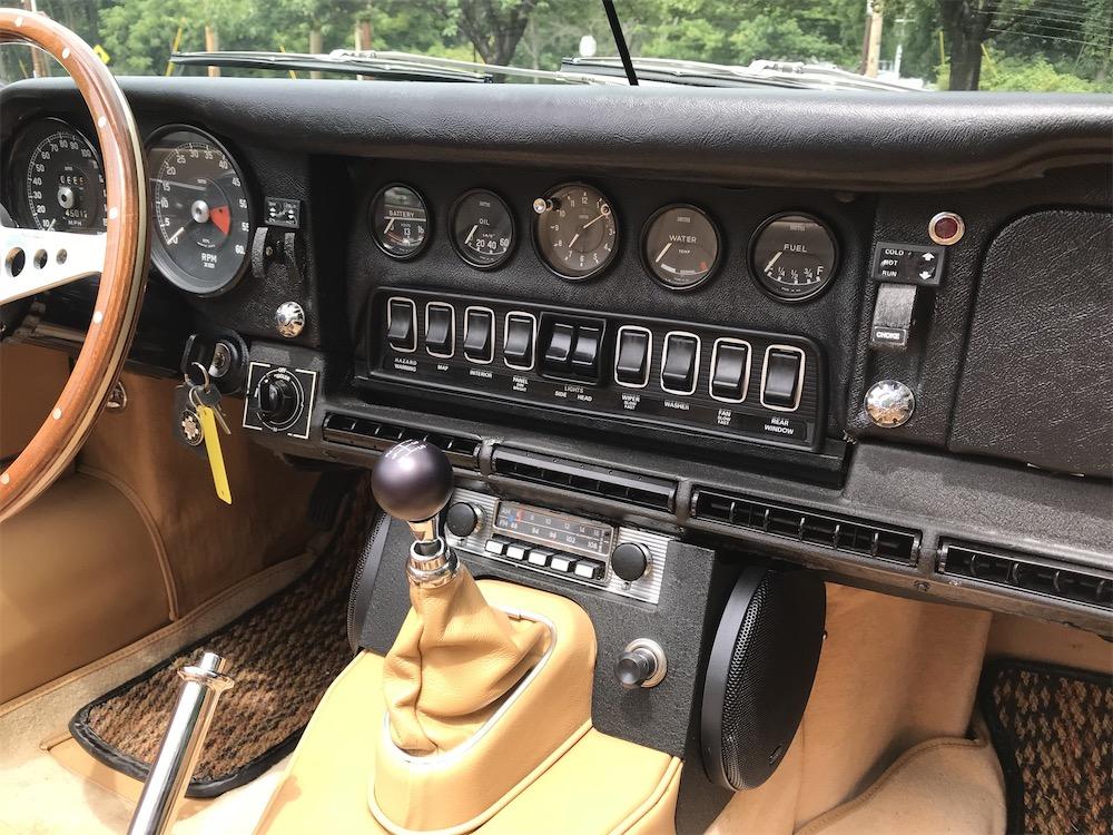Series II XK-E restoration.