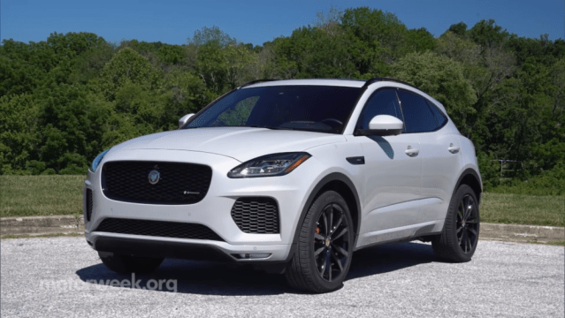 Jaguar E-Pace R Dynamic review