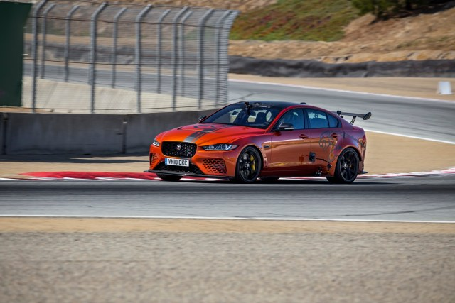 2019 Jaguar XE SV Project 8 Laguna Seca Lap Record Jaguarforums.com