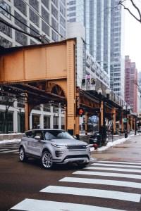 2020 Range Rover Evoque Chicago Auto Show Debut