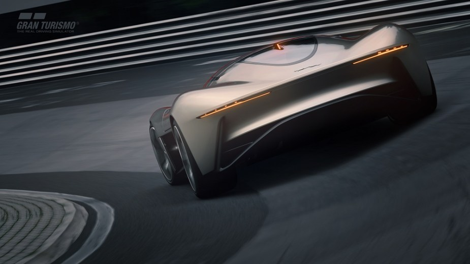 Jaguar S Vision Gran Turismo Coup 233 Ev Presses All The