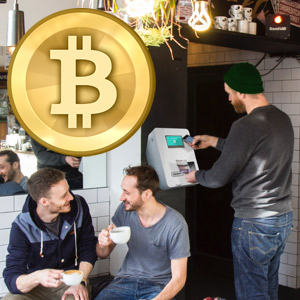 UK's first BITCOIN ATM