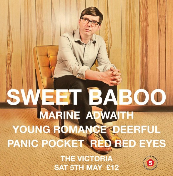 Scared To Dance & For The Rabbits all-dayer with Sweet Baboo + guests