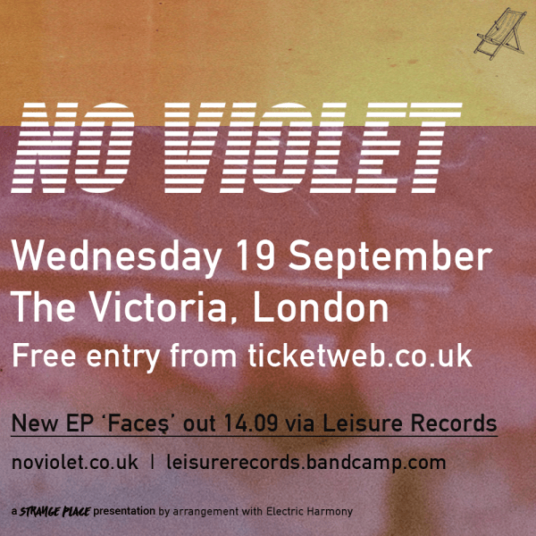 Strange Place presents No Violet + guests
