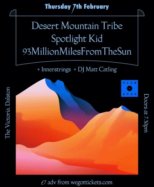 Club AC30: Desert Mountain Tribe, Spotlight Kid, 93mmfts