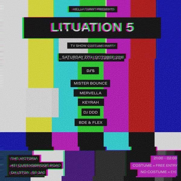 Lituation 5 – Halloween party