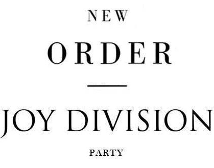 New Order | Joy Division Party 2019