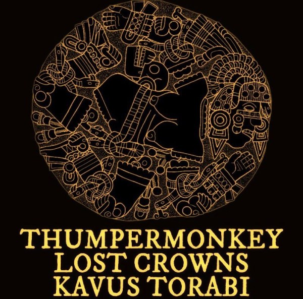The Victoria presents Thumpermonkey, Lost Crowns, Kavus Torabi (solo set)