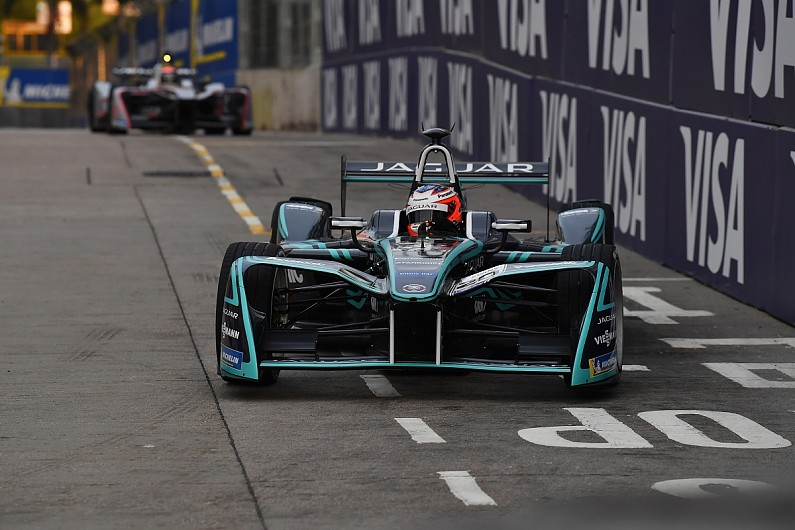 Jaguar&#8217&#x3B;s Mitch Evans quickest during Formula E practice in New York