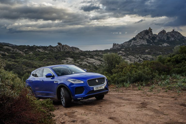 2018 Jaguar E-PACE: How does Jaguar&#8217&#x3B;s new crossover handle Gold Mine Hill?