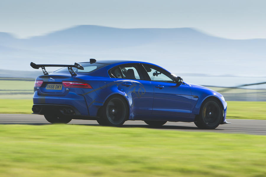 Jaguar XE SV Project 8 2018 UK review