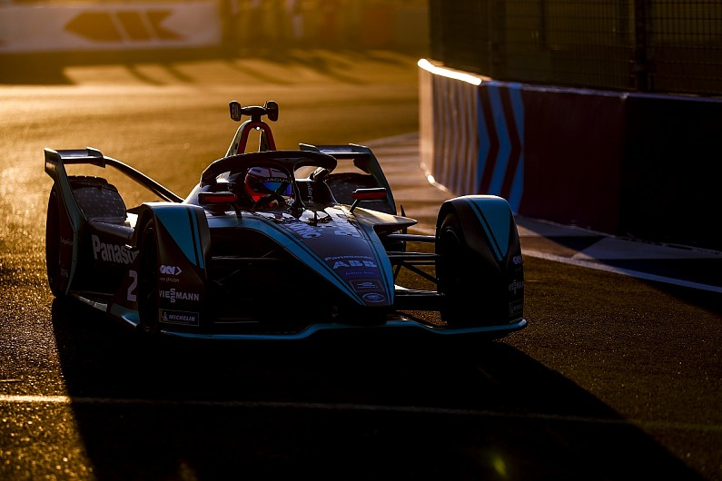 Marrakech Formula E: Panasonic Jaguar Racing driver Evans beats Lotterer in practice