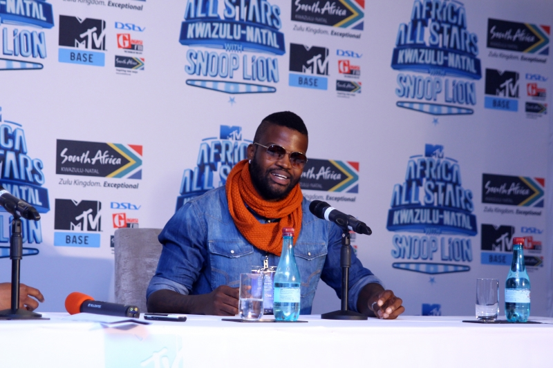 DJ Cleo at the MTV Africa All Stars press conference (2)