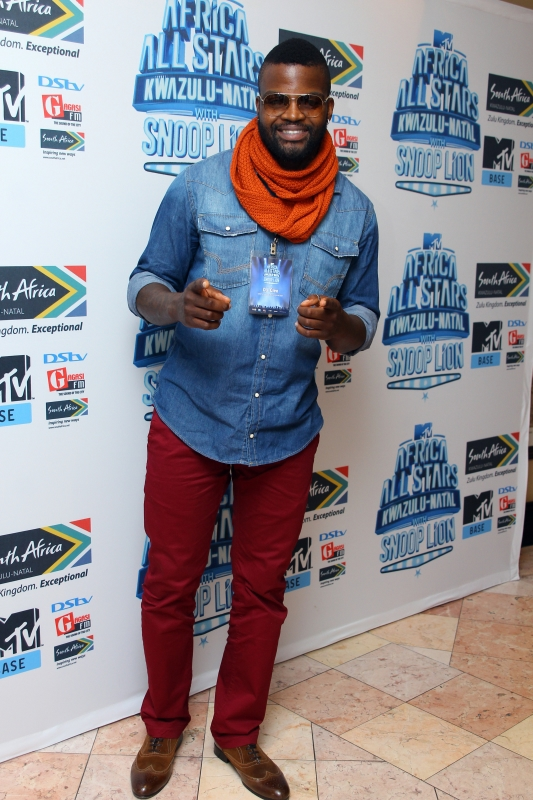 DJ Cleo at the MTV Africa All Stars press conference