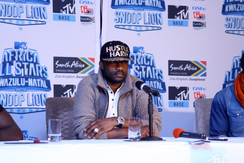 Fally Ipupa at the MTV Africa All Stars press conference (2)