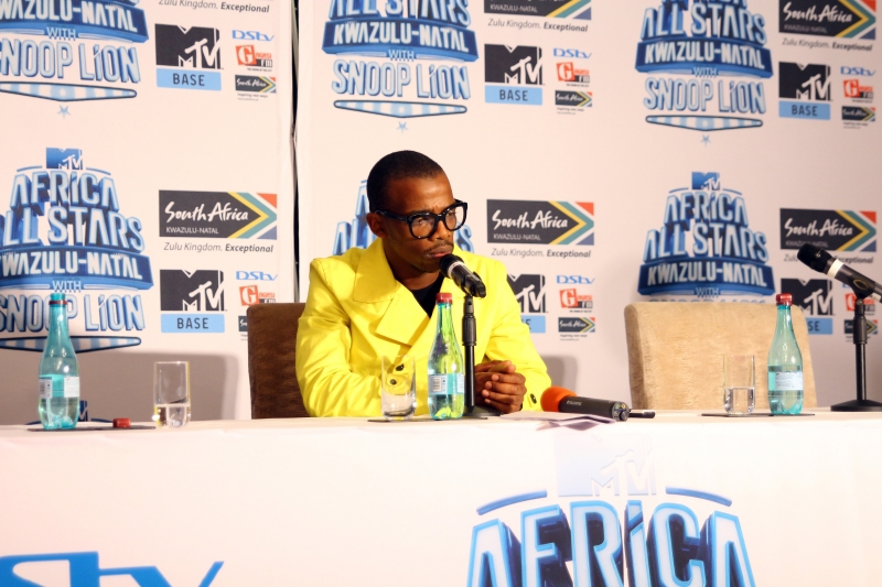 Zakes Bantwini at the MTV Africa All Stars press conference (1)