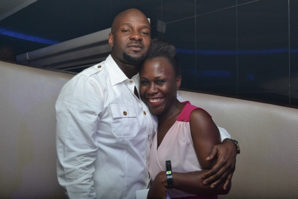 Alex Okosi and Tara Durotoye PHOTOS : Banky W, Julius Agwu, Toolz, Ice Prince, Wizkid, Others Gather To Celebrate Alex Okosi's Birthday In Lagos