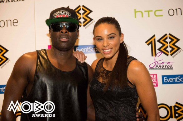 MOBO Awards 2013 nominations London Sept 3 - l-r Kojo and friend