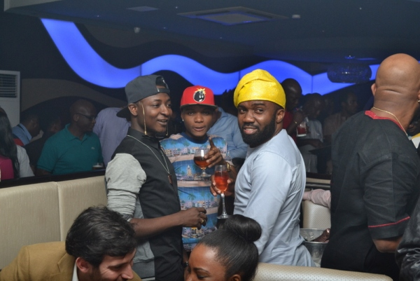 Shaydee Wizkid and Noble Igwe PHOTOS : Banky W, Julius Agwu, Toolz, Ice Prince, Wizkid, Others Gather To Celebrate Alex Okosi's Birthday In Lagos