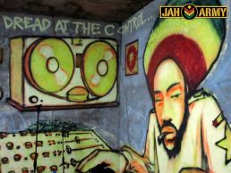 Mau Mau Graffiti at EDB Camp, Kingston