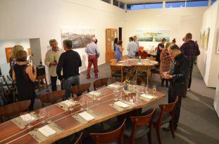 Larry-Mitchell-Dinner-at JahRoc Galleries