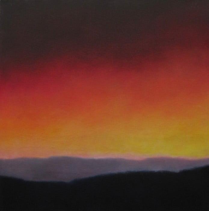 Alan Marshall Sierra Nevada Spain 2 42X42Cm Oil Painting