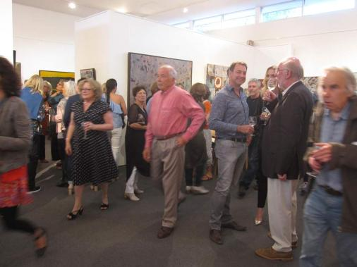 Bec Juniper Exhibition Opening Night Crowd 12