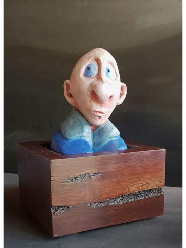 andrew taylor faded memories sculpture