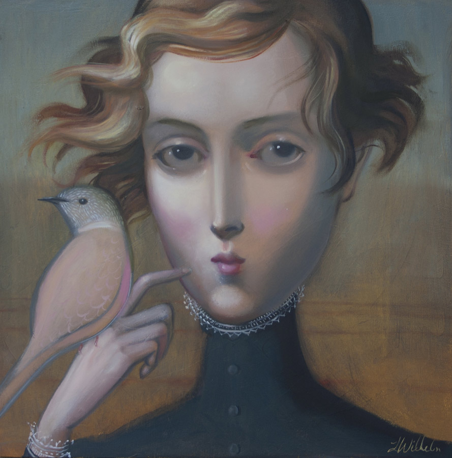 Lauren Wilhelm Todays A Different Day Painting