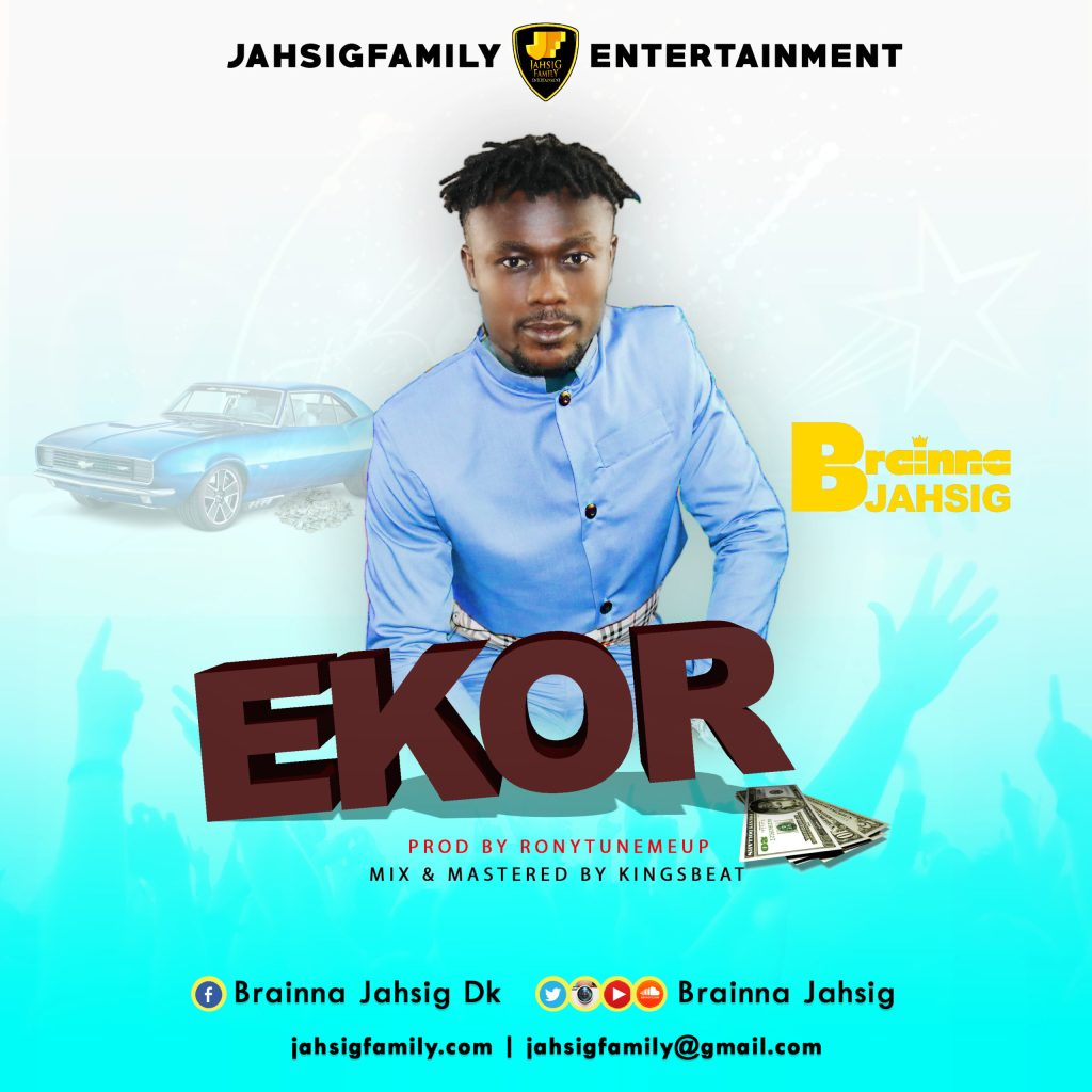 Brainna Jahsg… Ekor..Prod by Ronyturnmeup, Mixed and Mastered by KingsBeat. Artwork