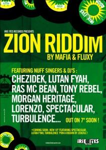 Irie Ites Records - Zion riddim