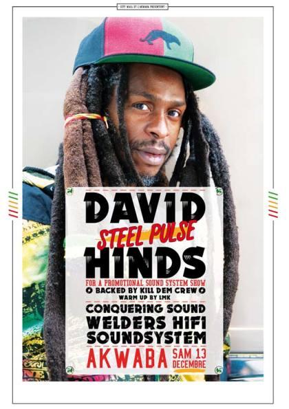 [84] - DAVID 'STEEL PULSE' HINDS + LMK + CONQUERING SOUND + WELDERS HIFI